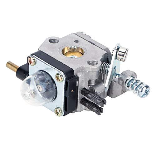Kit de carburateur de carburateur de jardin bonne rigidité matériau en aluminium léger artisanat exquis Match parfait, pour remplacement