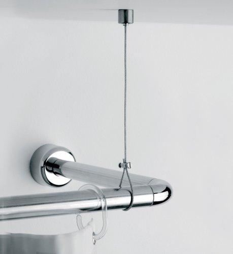 SANWOOD Deckenabhängung aus Messing & Edelstahl, individuell kürzbar