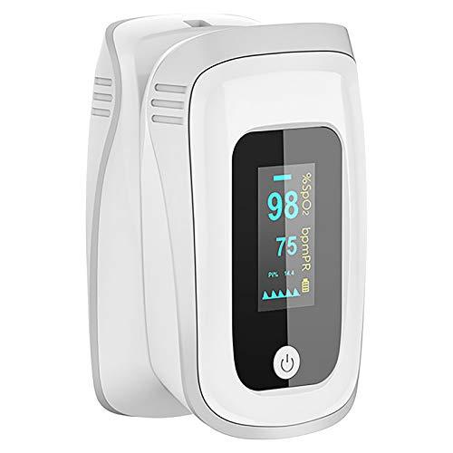 Monitor de saturación de oxígeno, pulsioxímetro de frecuencia cardíaca, dedo Monitor de oxígeno en sangre Bajo consumo de energía Oxímetro portátil de alta precisión para niños adultos【Sin batería】 ✅