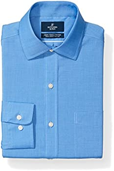 Buttoned Down Men's Classic Fit Stretch Poplin Dress Shirt