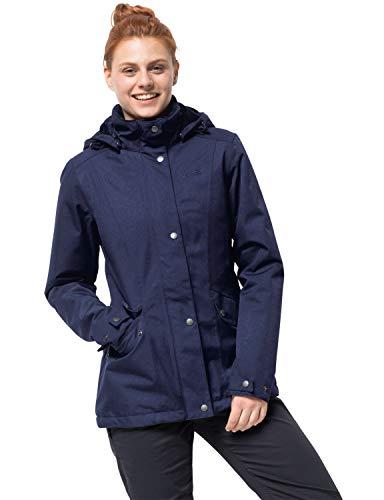 Jack Wolfskin Park Avenue Veste Femme, Lapiz Blue, FR : XS (Taille Fabricant : 1)