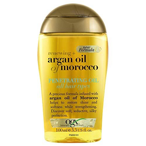 OGX, Aceite Penetrante de Argán de Marruecos, Cabello Brilloso y Sedoso,...