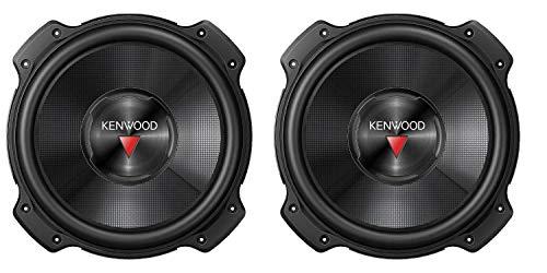 "2) Kenwood KFC-W2516PS 10"" 2600W Car Audio Subwoofers Subs Power Woofers 4 Ohm"