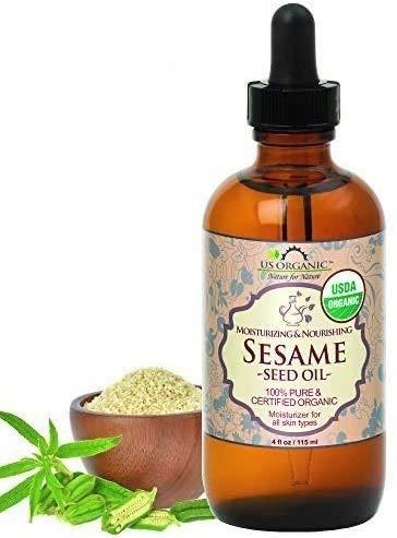 US Organic Sesame Seed Oil, Certified Organic,...