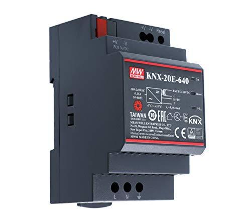 MEAN WELL KNX-20E-640 Hutschienen-Netzteil (DIN-Rail) 30 V/DC 640mA 19.2W 1 x