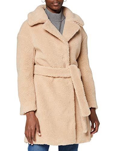 Ivy Revel DE Belted Teddy Coat Abrigo para Mujer