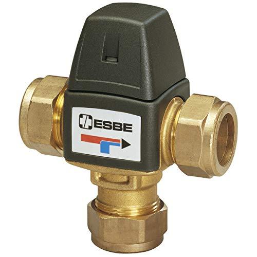 ESBE Brauchwassermischer VTA322 Mischautomat Trinkwasser 22er Klemmverschraubung VTA 322, Temperatur: 35-60 °C