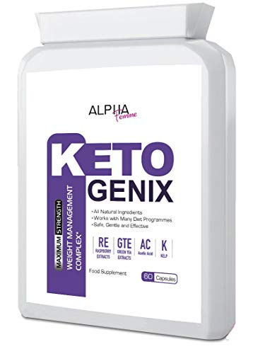 Alpha Femme Keto GENIX - Extreme Weight Loss & Fat Burn Formula (Supplement Paradise)