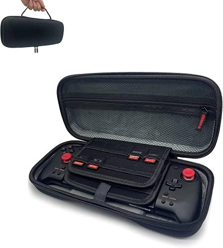 3XS HORI Split Pad Pro - Coque rigide ZBRO pour manette Nintendo Switch Split Pad Pro - Prend en charge 20 emplacements de jeux/protection des boutons/grande capacité..