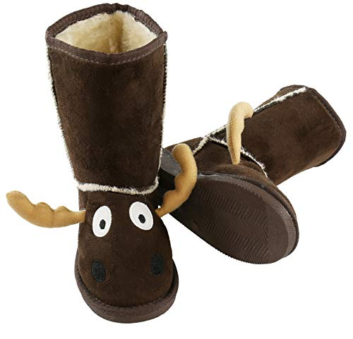 Lazy One Animal Slipper Boots for Kids, Cozy Children's...