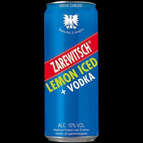 Zarewitsch Vodka und Lemon (24 x 0,25l) Dosen inkl. 6,00 Euro Pfand EINWEG