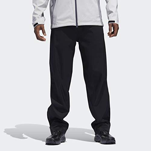 adidas Golf Men' Climaproof rain Pant, Black, Large/Regular