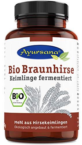 Ayursana® Bio Braunhirse Keimlinge fermentierte Rohkost ProEM.M, 300 g
