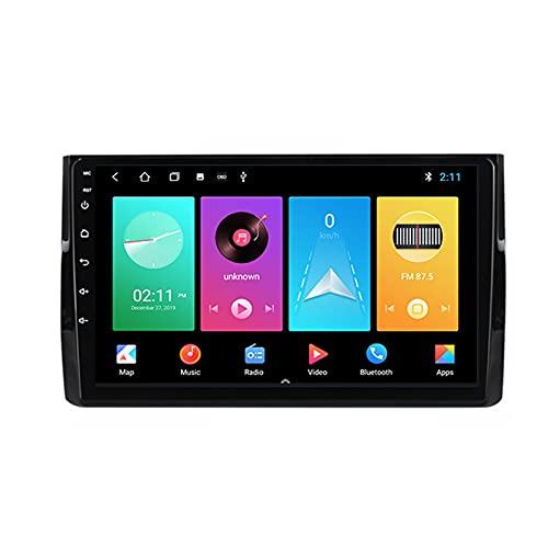 ADMLZQQ Android Autoradio 2 DIN con Bluetooth per Auto 9'' IPS Touchscreen 5G WiFi Plug And Play Completo RCA SWC Supporto Carautoplay/GPS/Dab+/OBDII per Skoda Kodiaq 2016-2020,M100s