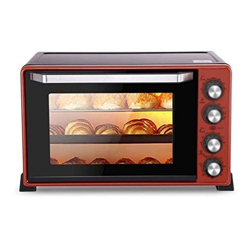 Qinmo Horno eléctrico, mini horno con grill y Bandeja de horno, 2000W...