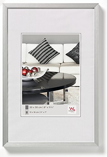 Walther design AJ040S Aluminium-Bilderrahmen Chair, 30x40 cm, silber