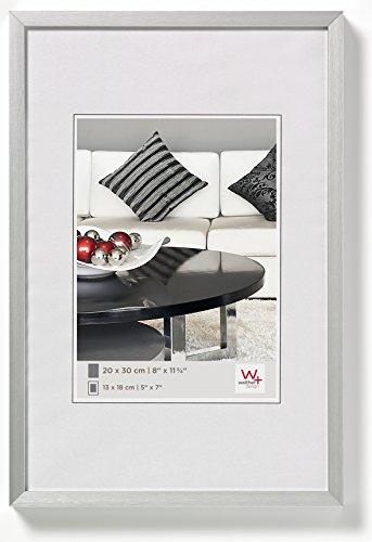 walther design AJ015S Aluminium-Bilderrahmen Chair, 10x15 cm, silber