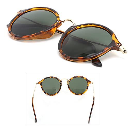 Gafas de sol, Hombres Mujeres Gafas de sol A prueba de rayos ultravioleta Bloqueo de rayos UV Protección ocular Gafas Accesorio de ropa Gafas de sol unisex anti-UV Marco de plástico Conducción Retro