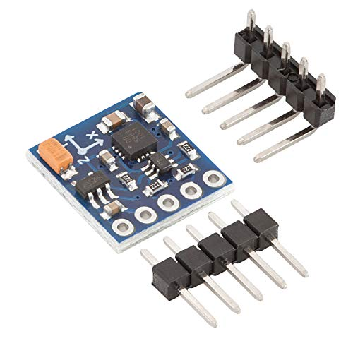 AZDelivery GY-271 Kompassmodul Kompass Magnet Sensor für Arduino und Raspberry Pi