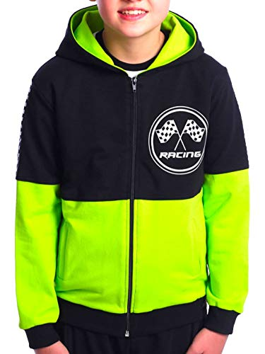 BEZLIT 30235 - Sudadera con capucha para niño verde claro 14 años