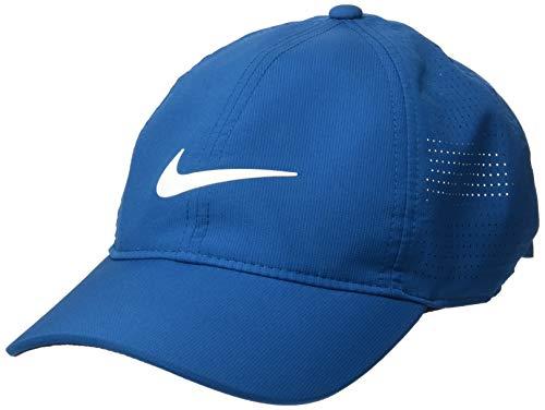 Nike AeroBill Legacy 91 - Gorra perforada para mujer - 892721, Nike Arobill L91 - Gorra para mujer, misc, Abismo Verde/Antracita/Vela