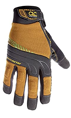 CLC Custom Leathercraft Contractor XtraCoverage Flex Grip Work Gloves