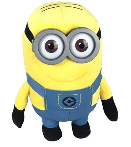 Minion Plüschfigur Dave mit Kunststoff Augen und Brille, ca. 20cm (Dave)