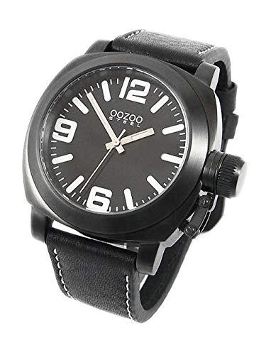 Oozoo Steel os0024 XXL Mujer Reloj Negro – 45 mm