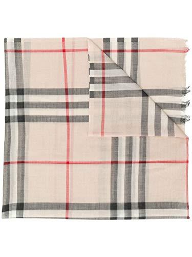 Luxury Fashion | Burberry Heren 8015407 Beige Zijde Sjaals | Herfst-winter 19