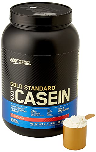 Optimum Nutrition 908g Strawberry Delight 100 Percent Gold Standard Casein by Optimum Nutrition