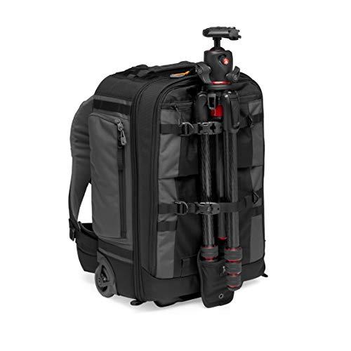 Lowepro LP37272-PWW Pro Trekker RLX 450 AW II Camera Convertible Backpack-Roller, Fits 15-inch Laptop/iPad, for Pro Mirrorless - DSLR, Gimbal, Drone, DJI Osmo Pro, DJI Mavic Pro, Grey