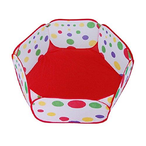 VORCOOL Enfants Ball Play Poll tente Toddler Ball Pit avec panier de basket pour les enfants en bas âge 1,2 m