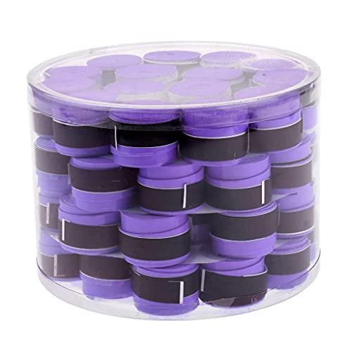 yotijar 50 cintas antideslizantes para raqueta de tenis, color morado, como se describe