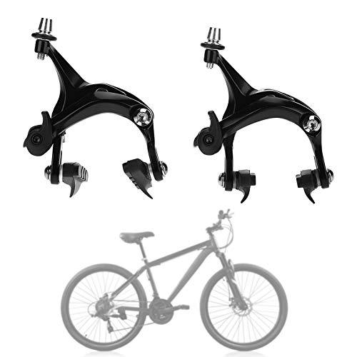 Yosoo Health Gear Freno de Bicicleta Clásico, Pinzas de Carretera de Alcance de Bicicleta con Accesorio de Piezas de Reparación del Juego de Frenos de Doble Pivote Delantero y Trasero (1 Par)
