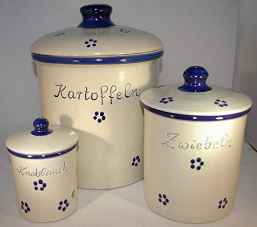 Töpferei Seifert Set Avena Kartoffel Zwiebel Knobi Grade
