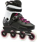 Rollerblade Damen Twister Edge Inlineskate, Black/Magenta, 270
