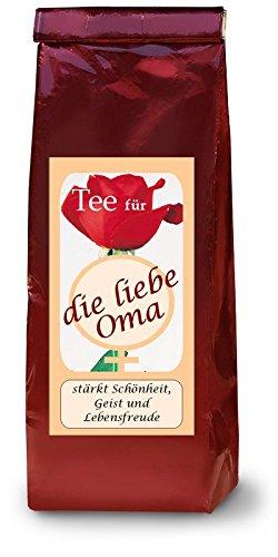liebe Oma; Namenstee; Früchtetee