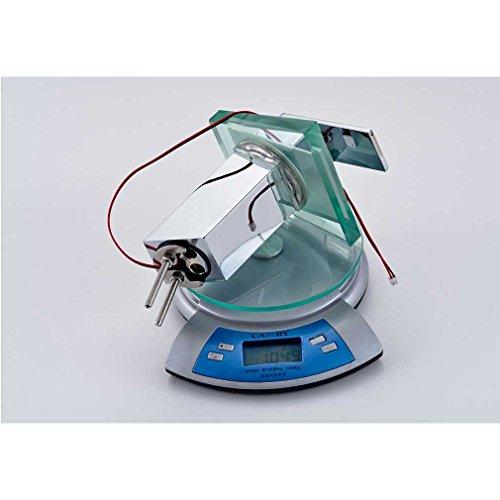 Auralum® Elegant LED RGB Glass Wasserhahn Armatur Chrom Wasserfall Waschtisch Waschtischarmatur für Bad Badezimmer Küchen 3 Farben - 6