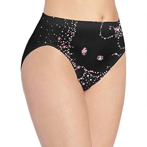 Hello Kitty, biancheria intima sexy da donna, in morbido cotone elastico bianco L