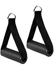 Dadabig 2 STKS Weerstand Band Grips, Oefening Weerstand Bands Vervanging Fitness Strap Handvat met Solid ABS Kernen Kabel Oefening Handvat voor Weerstand Training Yoga Oefenapparatuur