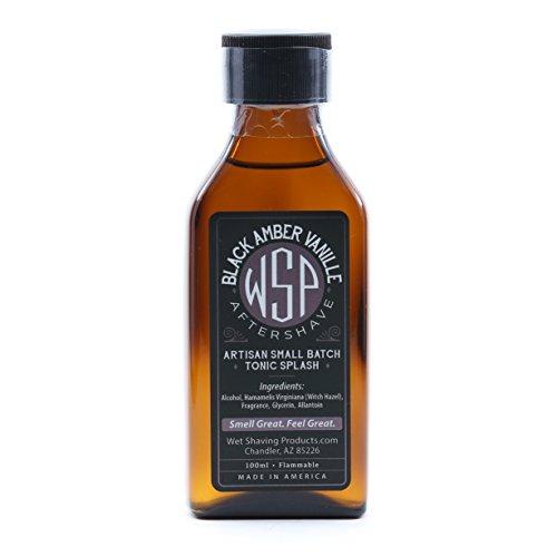 WSP Aftershave Tonic Splash 100ml (Black Amber Vanille)