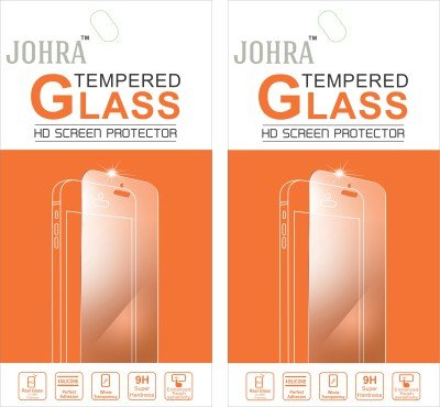 Johra Pack of 2 Tempered Glass Screen Scratch Guard Protector for Motorola Moto G Turbo