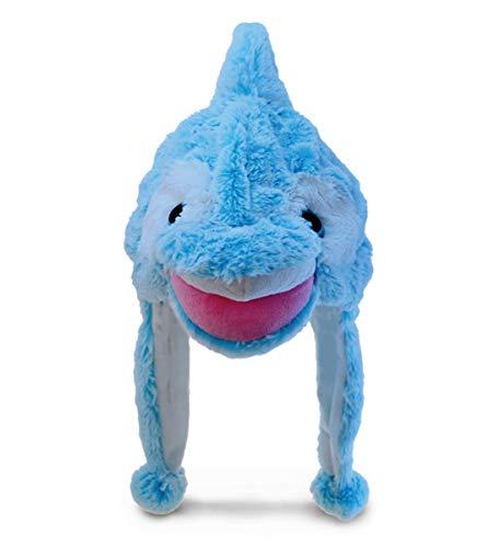 Puzzled Child's Super Soft Hat Dolphin Plush