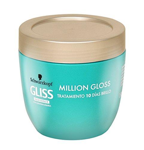 Schwarzkopf Gliss - Million Gloss Behandlung 10 Tage Glanz - für glänzendes und ausgeschaltetes Haar - 150 ml