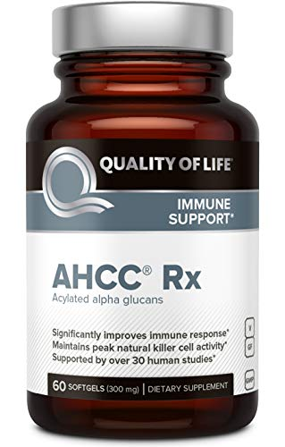 Quality of Life Ahcc rx 60 softgel Capsules