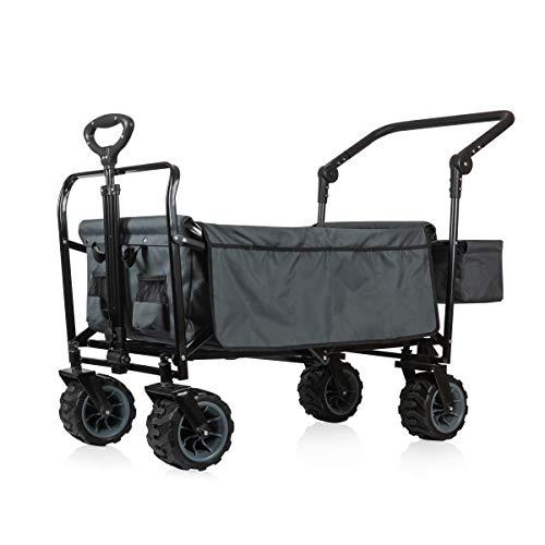 ONIVA - a Picnic Time brand Adventure Wagon GT Folding Utility Wagon, Gray