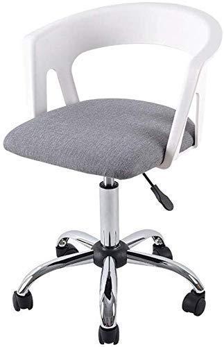 N/Z Living Equipment Home Computer Stuhl Bürostuhl Lift Stuhl Schreibtisch Rücken Stuhl Konferenzstuhl Verstellbarer Stuhl mit Rollen Schwarz
