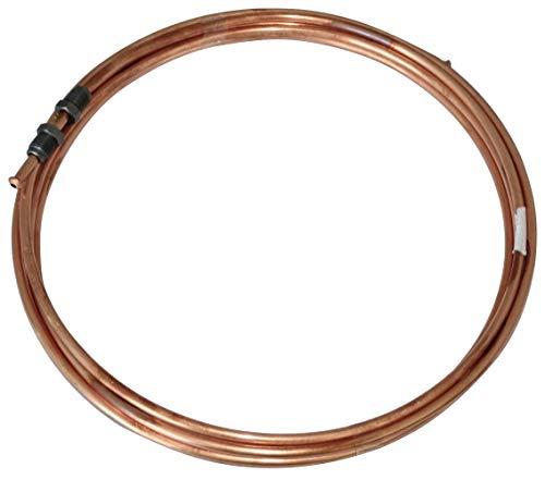 AERZETIX: Conduite de Freins Tuyau Tube en cuivre Ø4.76mm avec raccords M10x1/M10x1 (370cm)