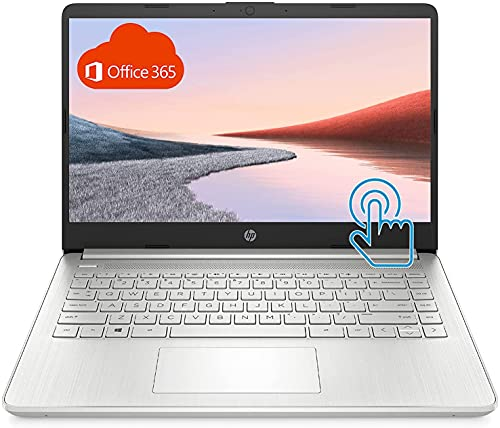 HP Stream 14-Inch Touchscreen Laptop, AMD Athlon 3050U, 4 GB SDRAM, 64 GB eMMC, Windows 10 Home in S Mode with Office 365 Personal for One Year (Silver), cm. SD 512 GB