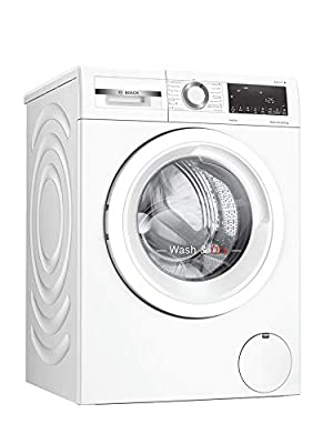 Bosch WNA134U8GB Serie 4 Freestanding Washer Dryer with AutoDry, Wash & Go 60, IronAssist and SpeedPerfect, 8kg/5kg load, 1400rpm spin - White